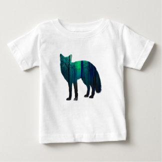 Fox-Silhouette - Waldfuchs - Fuchskunst - wildfox Baby T-shirt