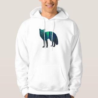 Fox-Silhouette - Waldfuchs - Fuchskunst - wildfox Hoodie