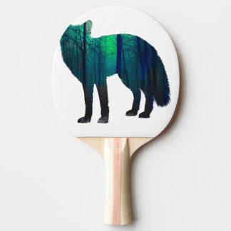 Fox-Silhouette - Waldfuchs - Fuchskunst - wildfox Tischtennis Schläger