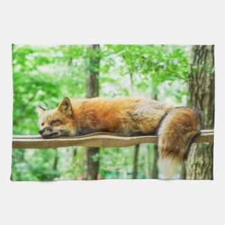 fox Teetuch, foxy Küchentuch, Fuchs-Wohngestaltung Handtuch