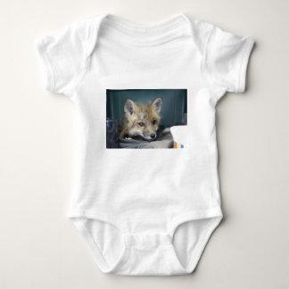 Fox-Telefon-Kasten Baby Strampler