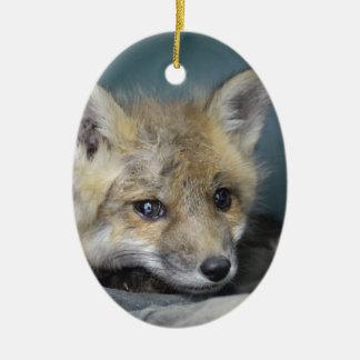 Fox-Telefon-Kasten Keramik Ornament