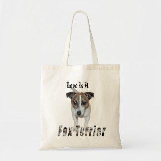 Fox-Terrier-Liebe ist, Tragetasche