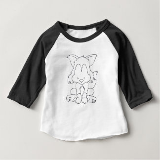 Fox to colorize baby t-shirt