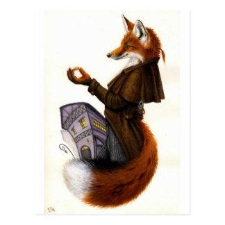 Fox-Trotte Postkarte