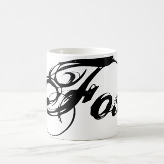 Fox TV Reihen-Logo-Tasse Kaffeetasse