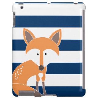 Fox- und Marine-Streifen iPad Fall