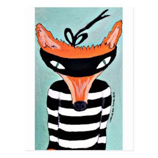 Fox und Räuber durch PaperTree Postkarte