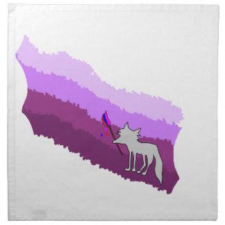 Fox von Farben Stoffserviette