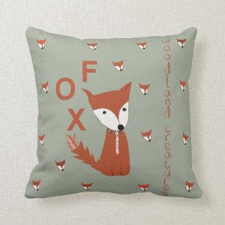 Fox-Waldgeschöpf Kissen