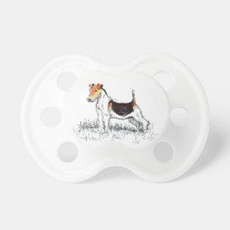 Foxterrier Schnuller