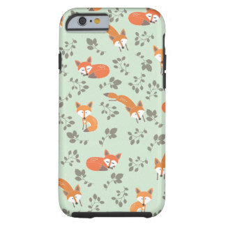 Foxy Blumenmuster Tough iPhone 6 Hülle