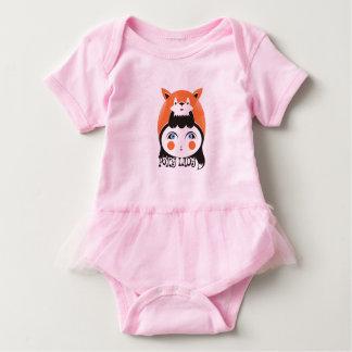 Foxy Dame, Baby-Ballettröckchen-Bodysuit Baby Strampler