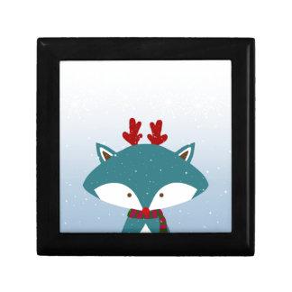 Foxy erhalten Sie für Weihnachten modisch Erinnerungskiste