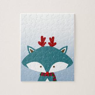 Foxy erhalten Sie für Weihnachten modisch Puzzle
