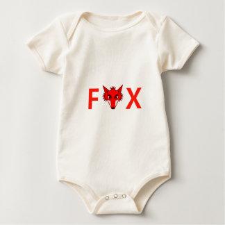 Foxy Fox Baby Strampler