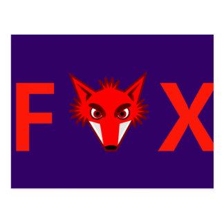 Foxy Fox Postkarte