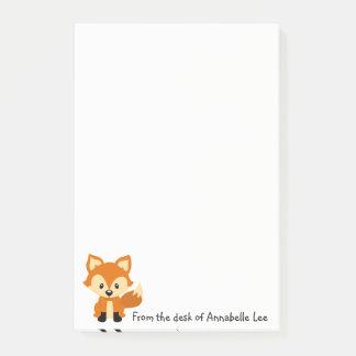 Foxy kleiner Freund Post-it Klebezettel