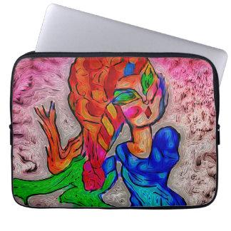 Foxy Meerjungfrau Laptop Sleeve