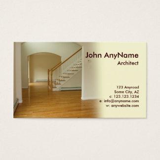Foyer im Neubau-Zuhause Visitenkarte