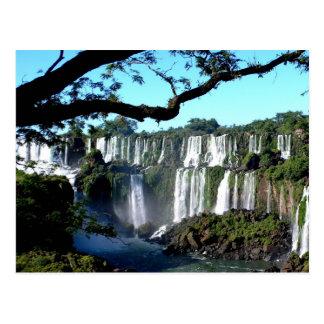Foz do Iguaçu/die Iguaçu-Wasserfälle Postkarte