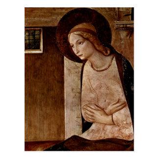 Fra Angelico Auch genannt: Beato Angelico; FraGio Postkarte