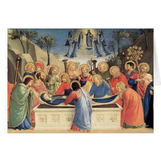 Fra Angelico- die Beerdigung der Jungfrau Karte