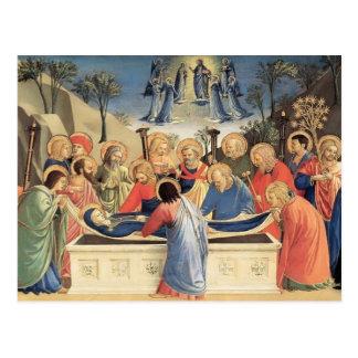 Fra Angelico- die Beerdigung der Jungfrau Postkarten