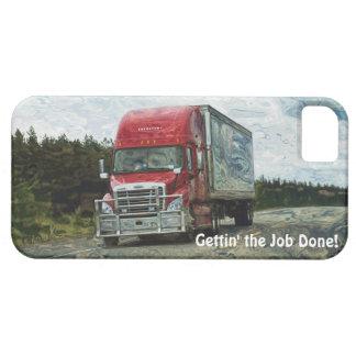 Fracht, die das iPhone 5 des Fracht-LKW-Fahrers iPhone 5 Etui