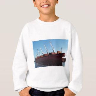 Frachtschiff-Ofen-Händler, der auf Fracht nimmt Sweatshirt