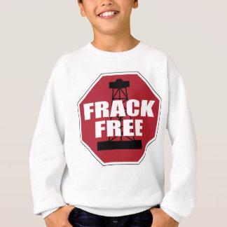 Frack geben USA frei Sweatshirt