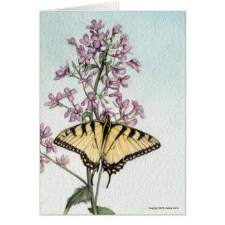 Frack-Schmetterling durch Michael Martin Karte