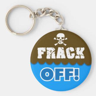 FRACK WEG! - Fracking/Verschmutzung/Aktivist/Prote Schlüsselband