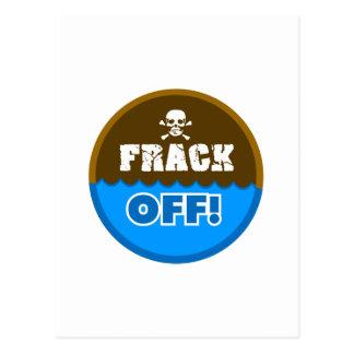 FRACK WEG! - POSTKARTE