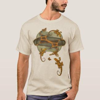 fractal-gecko-butterfly-bird T-Shirt