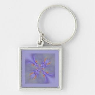 Fractal lilac schlüsselanhänger