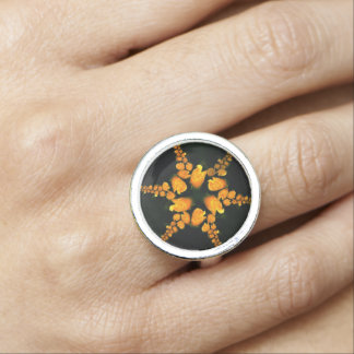 Fractal star foto ring