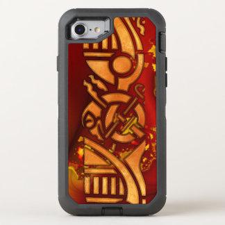FractalCelt 1 Grafikdesign OtterBox Defender iPhone 8/7 Hülle