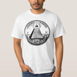 Frage Illuminati neue Weltordnung T-Shirt