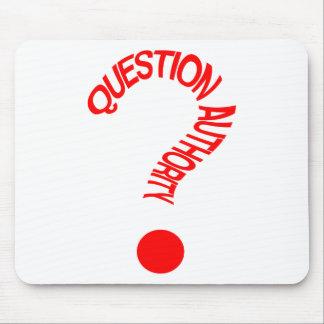 Fragen-Berechtigung Mousepad