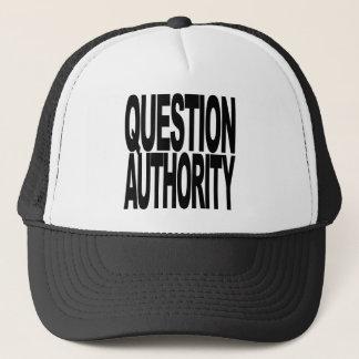 Fragen-Berechtigung Truckerkappe