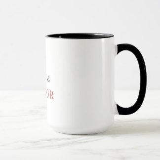 Fragen Sie die Pastor-Tasse Tasse