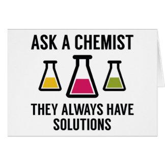 Fragen Sie einen Chemiker Karte
