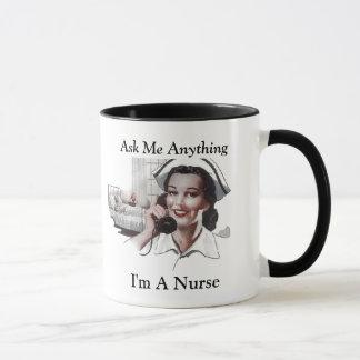 Fragen Sie mich allen, den ich eine Tasse
