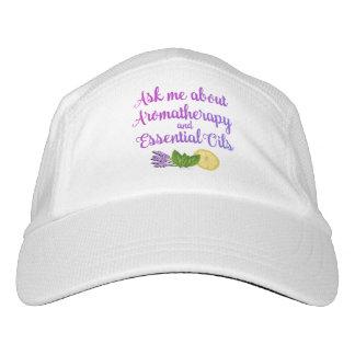 Fragen Sie mich über Aromatherapy-wesentliche Headsweats Kappe