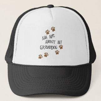 Fragen Sie mich über mein Granddog Truckerkappe