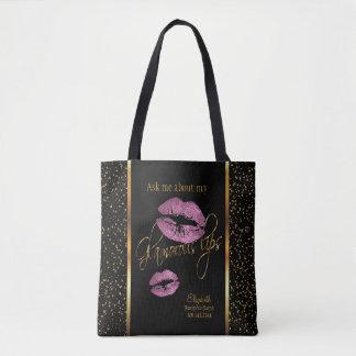 Fragen Sie mich über meine bezaubernden Lippen - Tasche