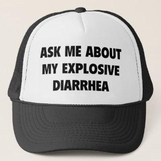 Fragen Sie mich über meine explosive Diarrhöe Truckerkappe