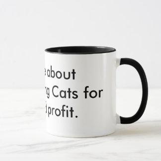 Fragen Sie mich über microwaving Katzen für Spaß Tasse