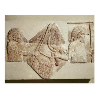 Fragment von darstellende mittlere Steuerbare Postkarte